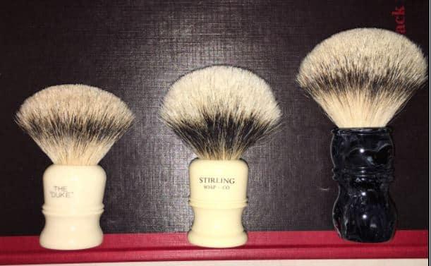 Badger Hair Softness Grades