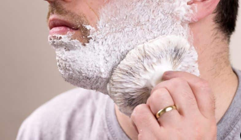 Lather Up shaving brush