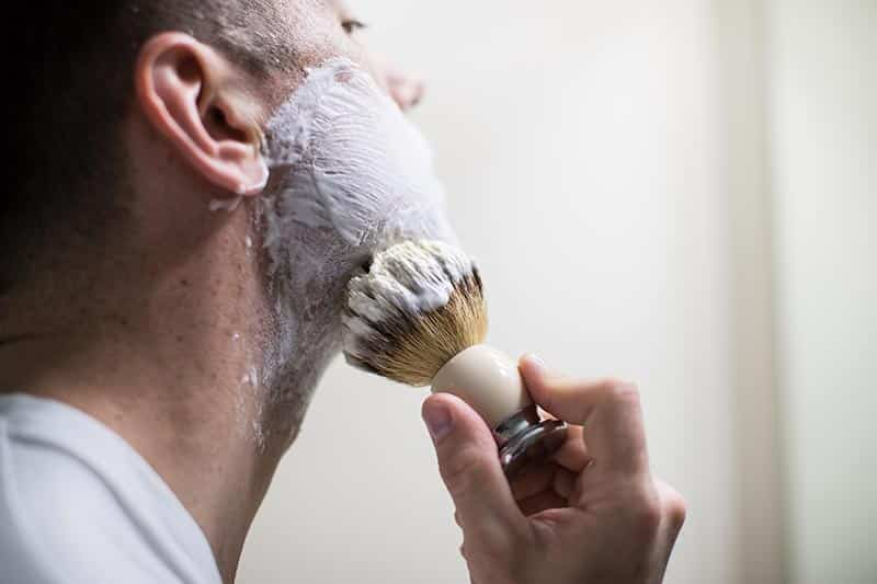 Using a Shaving Cup and Brush