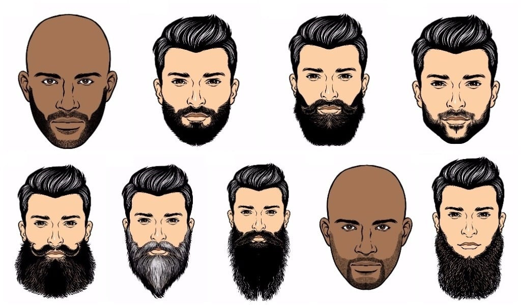 Choosing the right beard for your face shape