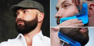 beard shaping for men