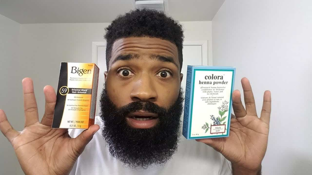 beard and mustache dye for sensitive skin