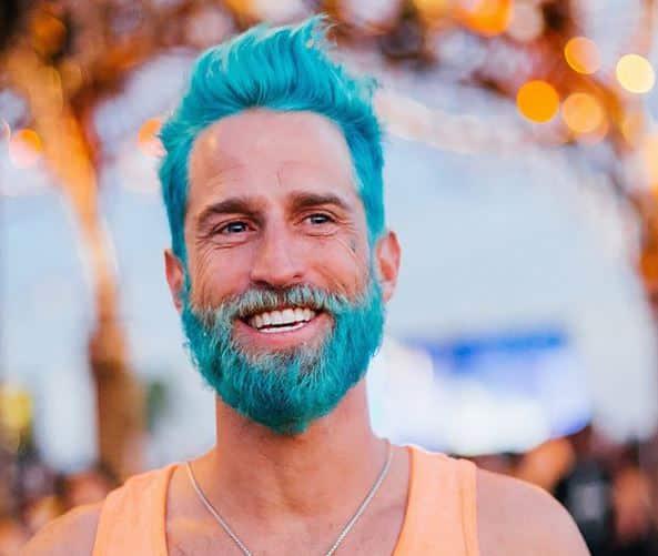 beard dye sensative skin