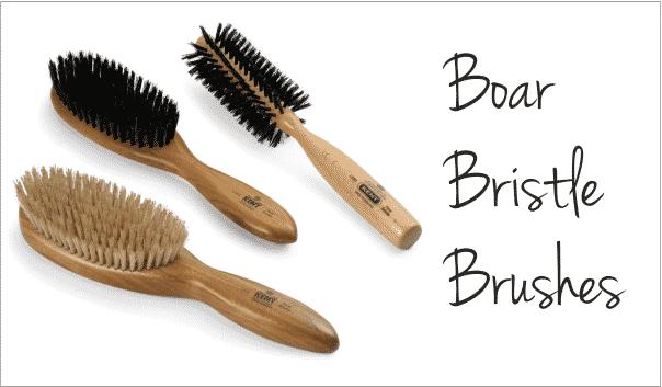 Boar Bristle Brushes for mens thin hair