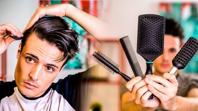 Mens Hair Brush for Thin Hair