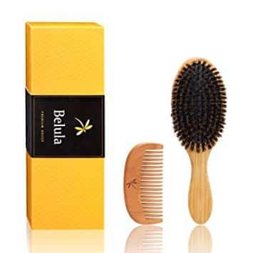 Belula Natural Boar Bristle Hair Brush