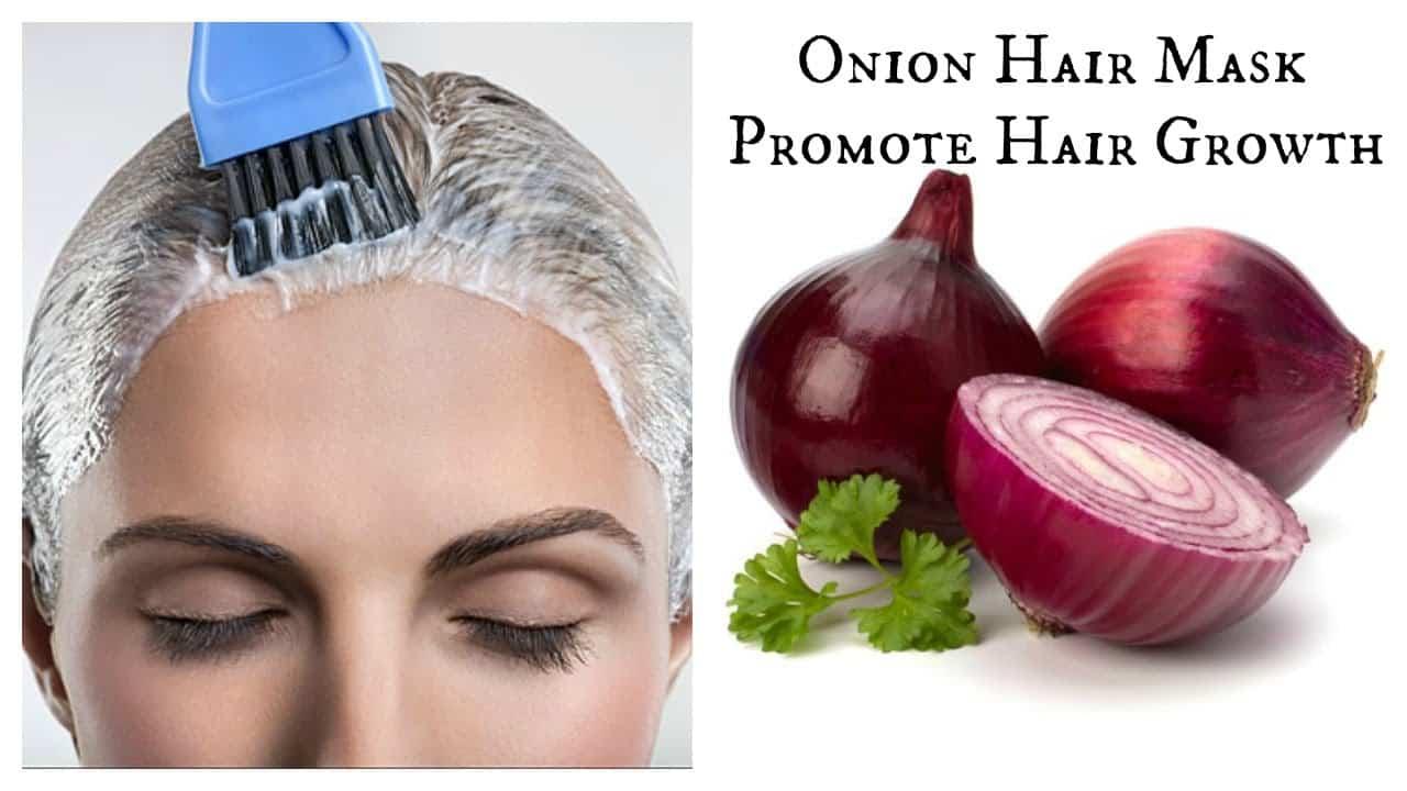 onions hair growth gray hair