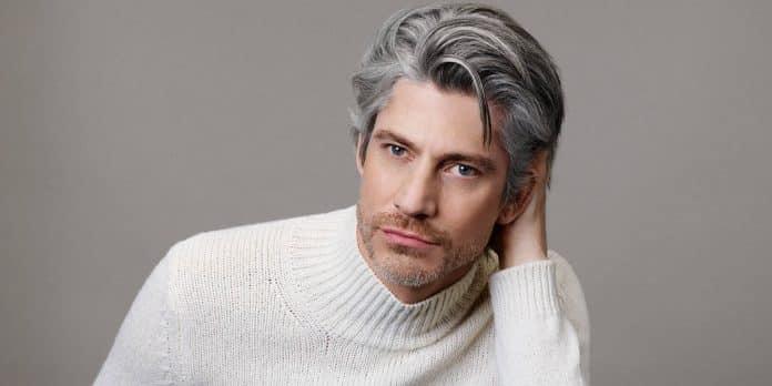turn gray hair black naturally
