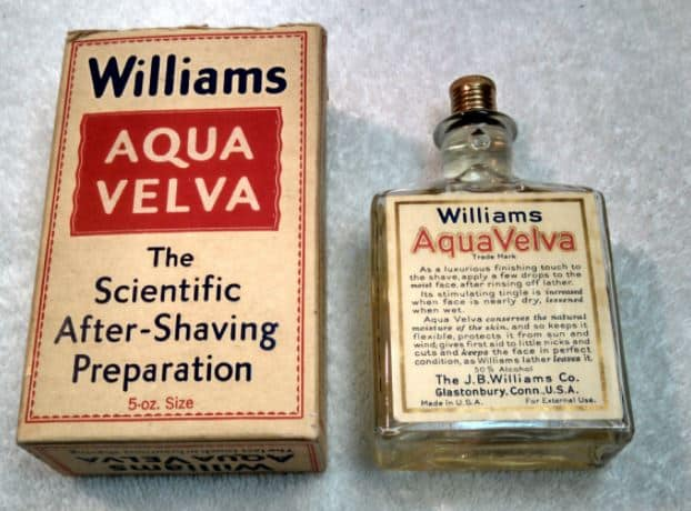 the origins of aftershave