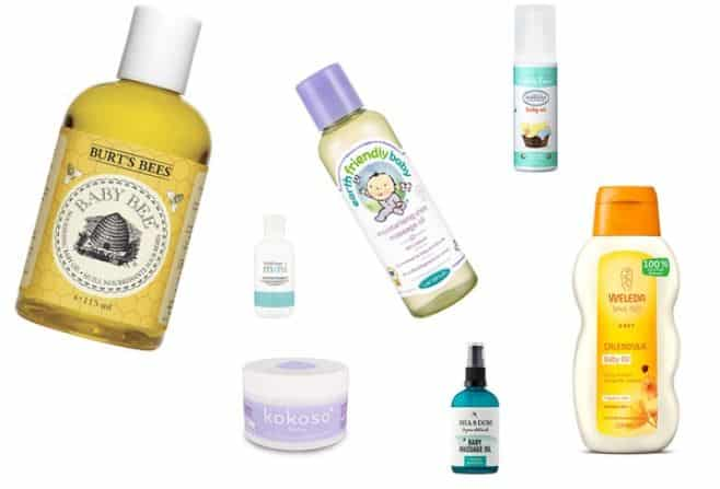 Types of Baby Oils