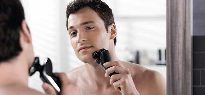 dry shaving