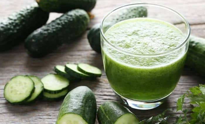 Cucumber Juice instead of witch hazel