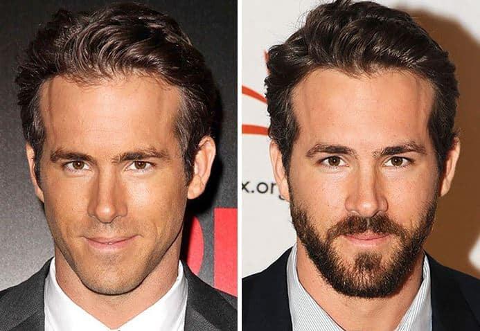 Moustaches vs no moustache