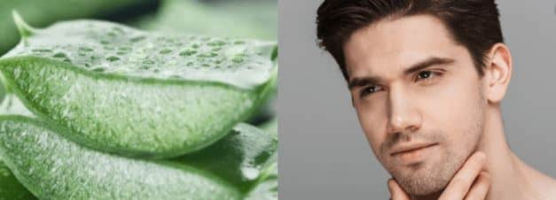 why use aloe vera as aftershave